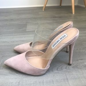 Blush Steve Madden heels